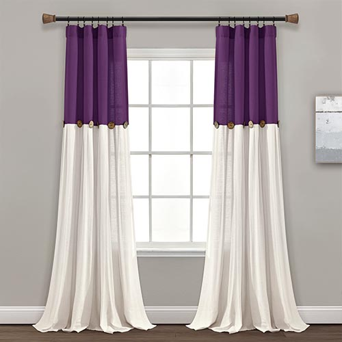 Affordable Linen Fabric Curtains Dubai