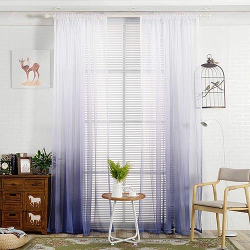 Modern Sheer Curtains UAE