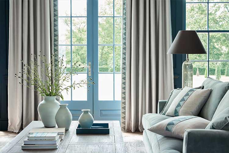 Grey Curtains Dubai