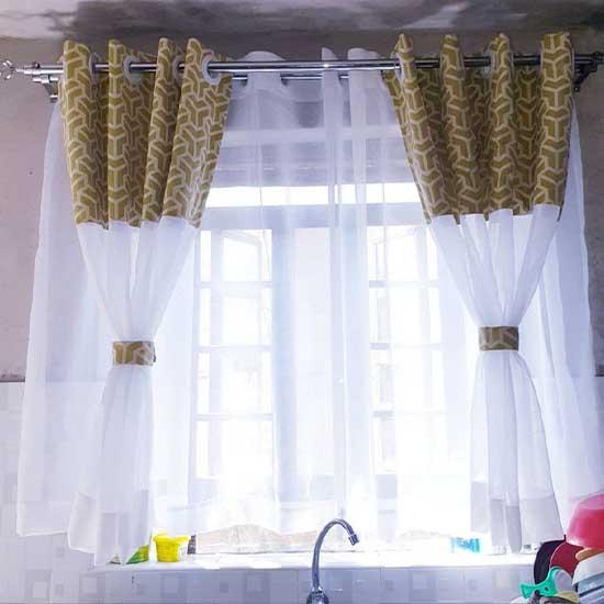 Modern Kitchen Curtains Dubai