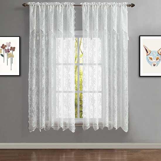Modern Lace Curtains Dubai