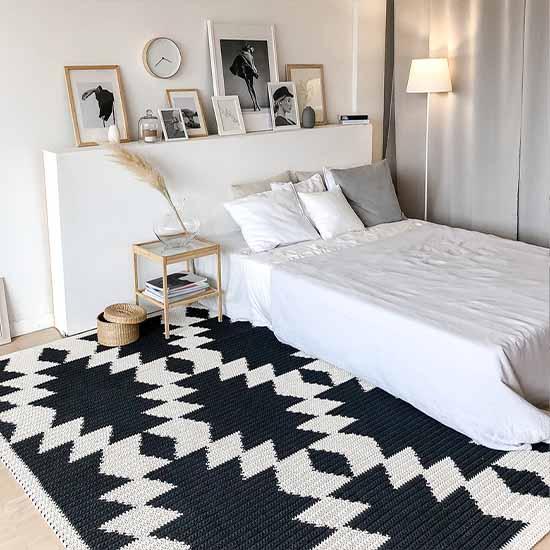 Modern Bedroom Rugs