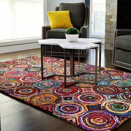 Modern Living Room Rugs