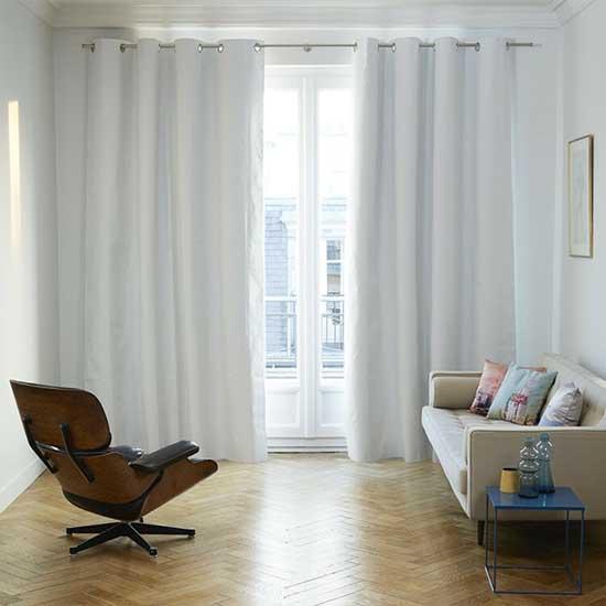 Stylish White Curtains Dubai