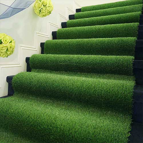 grass carpet for stairs