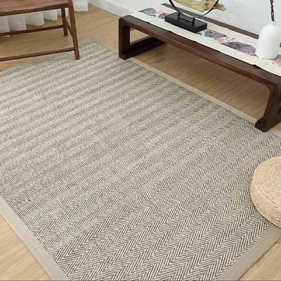 100% Natural Fabric Sisal Rugs Dubai