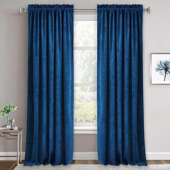 Premium Quality Velvet Curtains Dubai